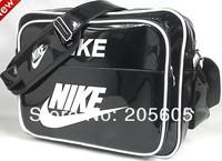 Wave packet leisure sports bag Messenger bag shoulder bag schoolbag patent leather man bag handbags