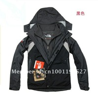 2012 Outdoor Sports jacket men's two-piece jacket ski suit  6-color Free Shipping