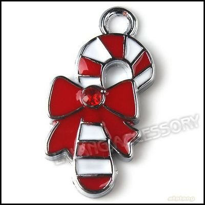 Candy Cane Jewelry Red Christmas Candy Cane