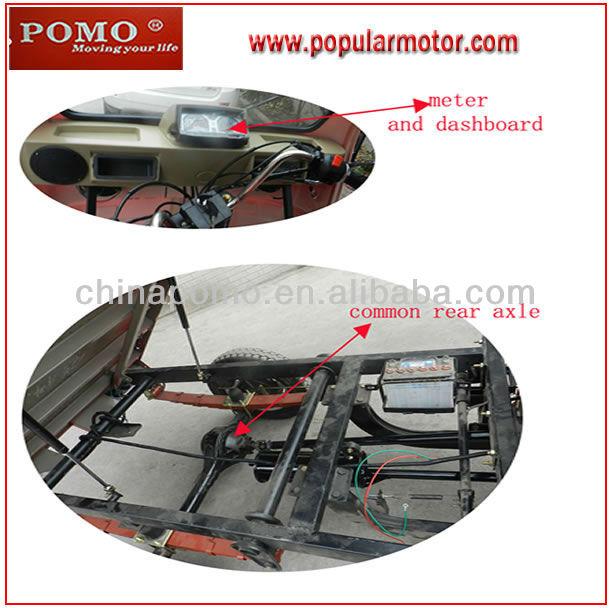 Top Popular Chinese 2013 Hot Cheap 250CC Cargo Three Wheel Motorcycle 150CC