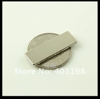 25pcs супер мощный n35 неодимовый магнит неодимовые магниты f30 * 10 * 2 мм