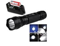 Светодиодный фонарик Ultrafire 501B CREE XML T6 1000 Lumens 5-Mode Led Flashlight Torch+3000mah 18650 Rechargeable battery+charger