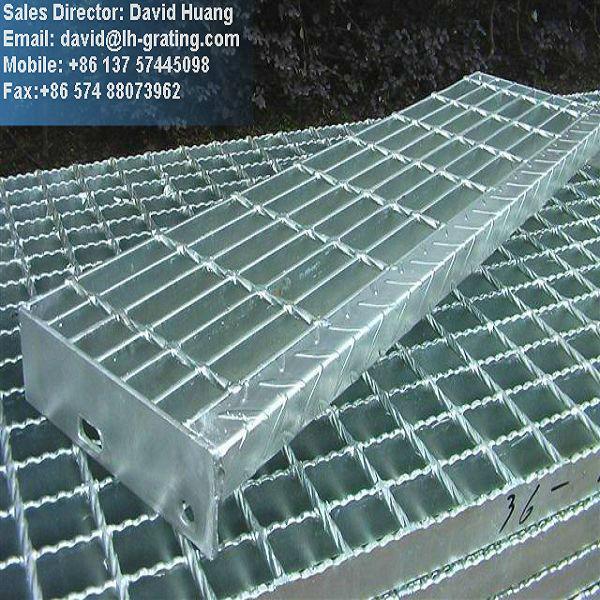 Galvanized Metal Plate Grating Galvanized Platform Grating