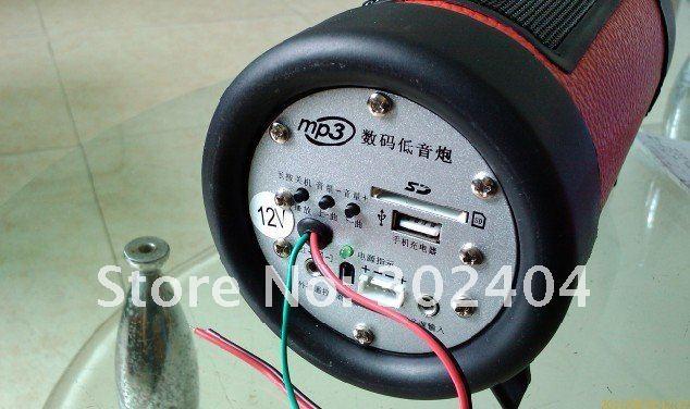 Автомобильный стерео усилитель 4 inch motorcycle / electric car subwoofer