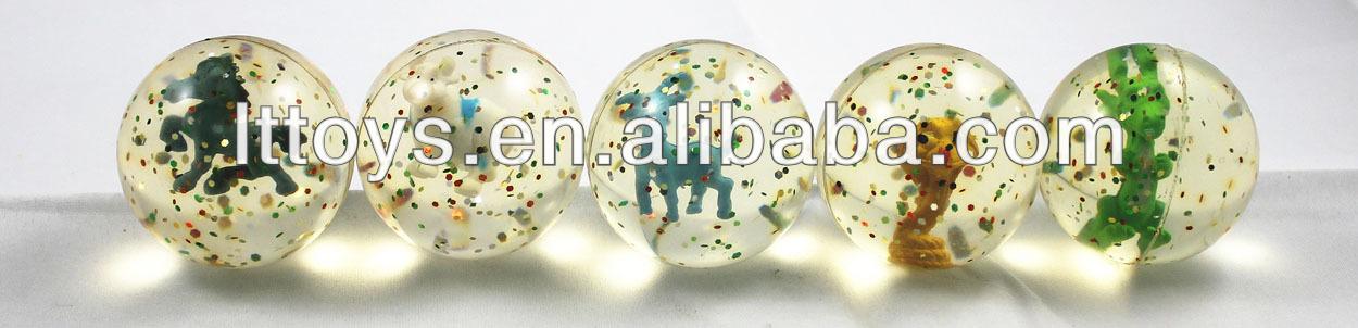 3D rubber bouncing ball