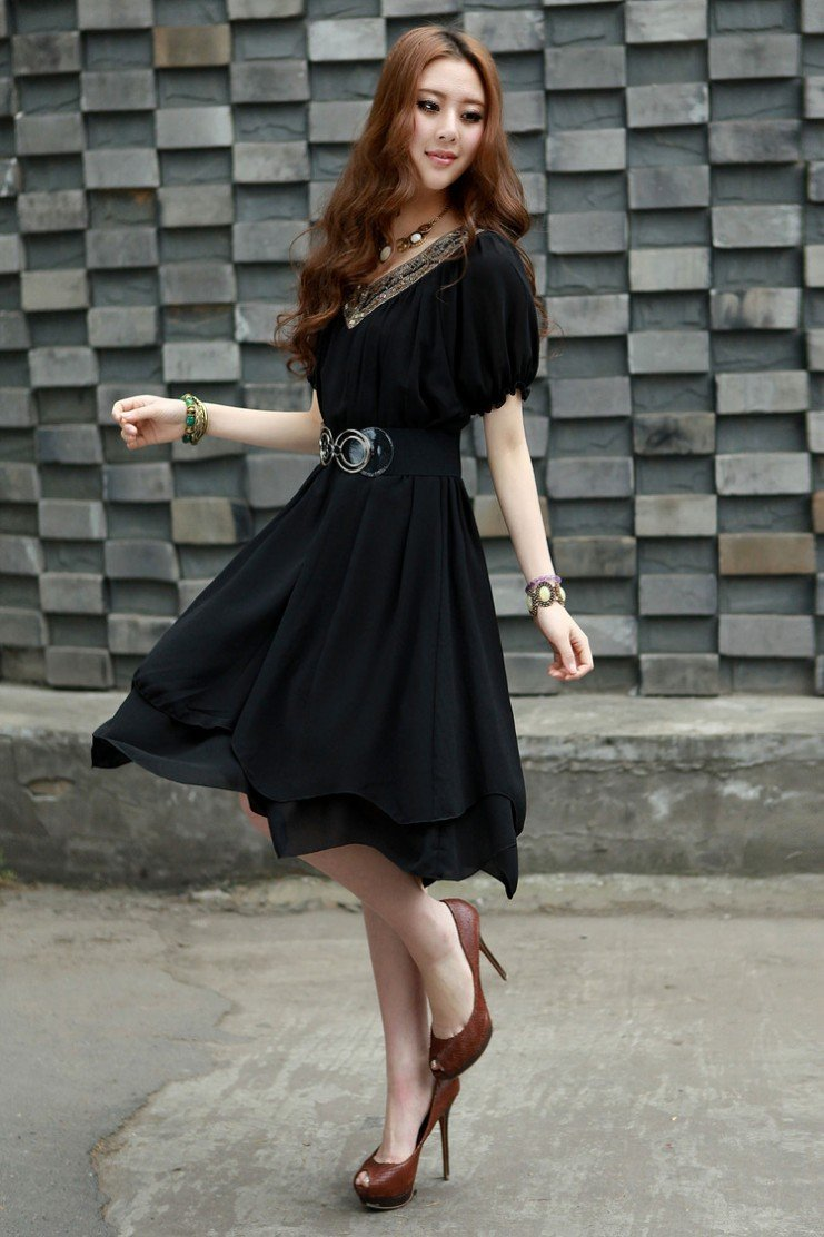 2012 new arrival fashion sexy leopard short sleeve lady's casual dress