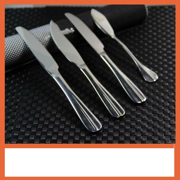 Stainless steel dinner knife,environmental protection tableware