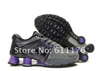 Женские кроссовки 100% Quality Gurantee! Name Brand Shox Women's Sports Shoes Leisure Running Shoes NO MOQ Best Gift