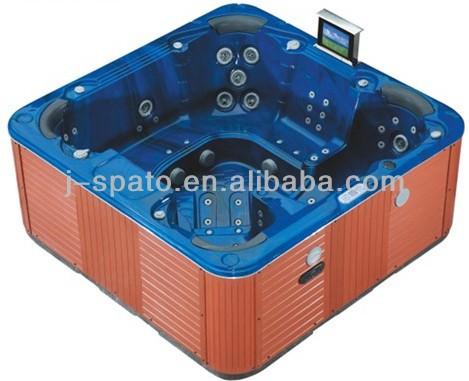 J-spato hangzhou factory acrylic outdoor spa