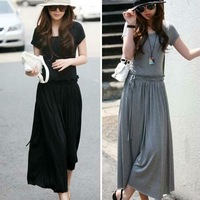 Женское платье New Korean Style Loose Cashmere Long OL Dress 1Pcs Lot Quality promised.maxid16
