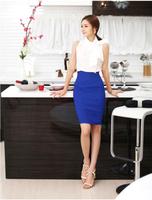 Женская юбка 1PC Womens Fitted Business Slimming High Waist Bag Hip Office Hip Pencil Skirt