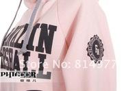 Женские толстовки и Кофты brand new wemen sports hoodie set, jacket, Spring autumn letters sweater coat