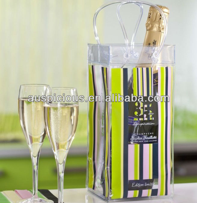Professional colorful wine carrier bag