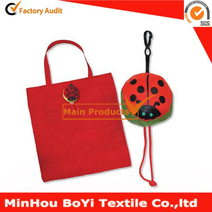 Promotional cheap folding shopping bag