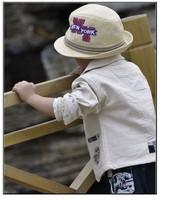 retail boys suit baby kids t-shirt + pants + coat fashion outfits infants toddlers cotton clothes set spring autumn casual wear
