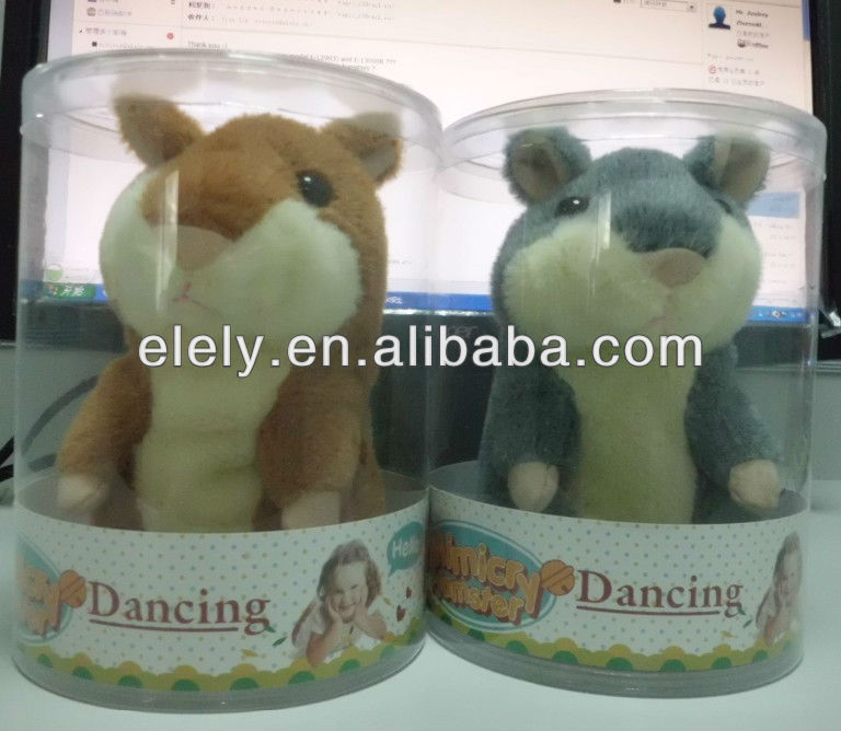 2013 Russian Talking Hamster/Voice Recording Hamster/Repeat Hamster