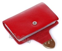 Free shipping 26-bit cards Fashion Women&Men's Genuine Cow Leather Name Business Credit Card Holder Bags,Gifts JJKB4