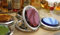 Зеркало Crystal folding handbag mirror make up mirror 01315