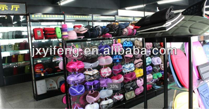 New fashion Pants box ,high quality EVA bra bag,travel bra bag for girl