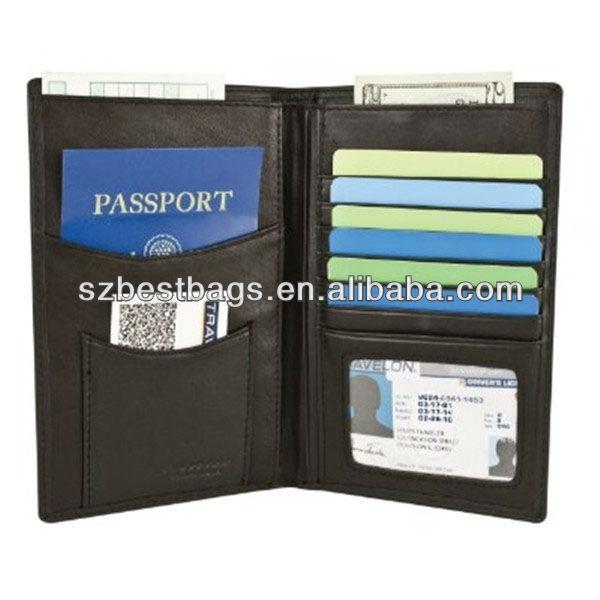 RFID Blocking Organizer Passport Case RFID Blocking Wallet