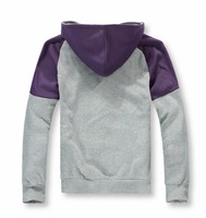 Мужская толстовка The new spring men's new fashion stitching quality brands of outdoor hoodie