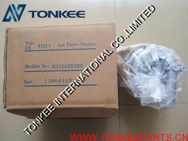 ISUZU 4HK1 GAS TURBO CHARGER 9973628390 IHI turbo for HITACHI ZX200-3 ZX210-3.jpg