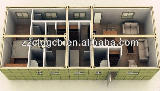 low cost steel prefabricate house