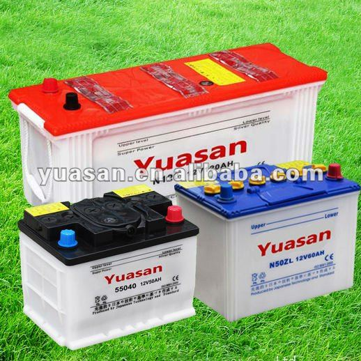 12V120AH Dry Charged Lead Acid N120 Car Automotive Battery for Starter