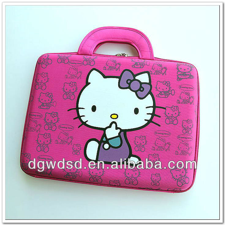Dongguan Brilliant Hello Kitty Pattern EVA Laptop Case/Bag