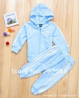 Комплект одежды для девочек 5 sets/lot children sporty suit, children jacket+pant, children wear, kid's suit, baby suit