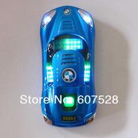 Голубой 760 спортивный автомобиль разблокирован смартфон Сотовые телефоны quad band dual sim мобильный телефон mp3 mp4
