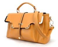 Сумка через плечо drop / 2012 New style tote bag, pu leather women handbags, shoulder messager bag designer / Retail SALE
