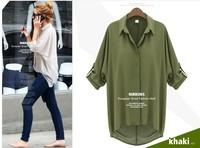 Женская футболка women's punk roupas femininas blouse women top cropped plus size t-shirts crochet blouse oversized sweaters xz76
