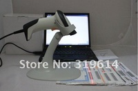 Сканер USB Automatic Laser Barcode Scanner Bar Code Reader+Holder Stand + 2M USB CABLE+, 1pc retail drop shipping