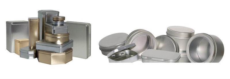 coffee tin can self sealing bottom with seaming machine