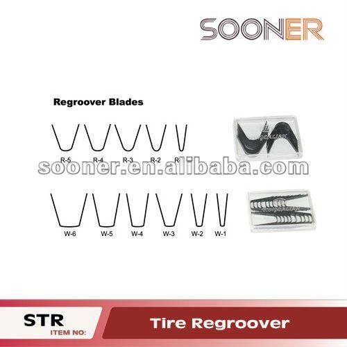 Tyre repairing tool & Tire regroover blades