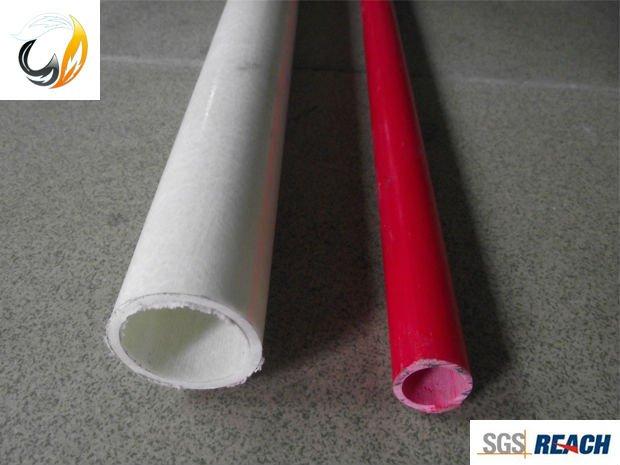 Fire Resistant Fiberglass Insulation Tube Flexible