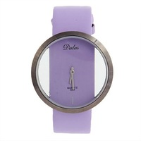 fashion watch free shipping Exquisite Dalas Hollow Dial Leather Watchband Wrist Watch for Female lady watch 6256