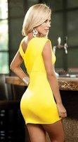 Женское платье Cason n071/! /+ s G ,   N071-Yellow