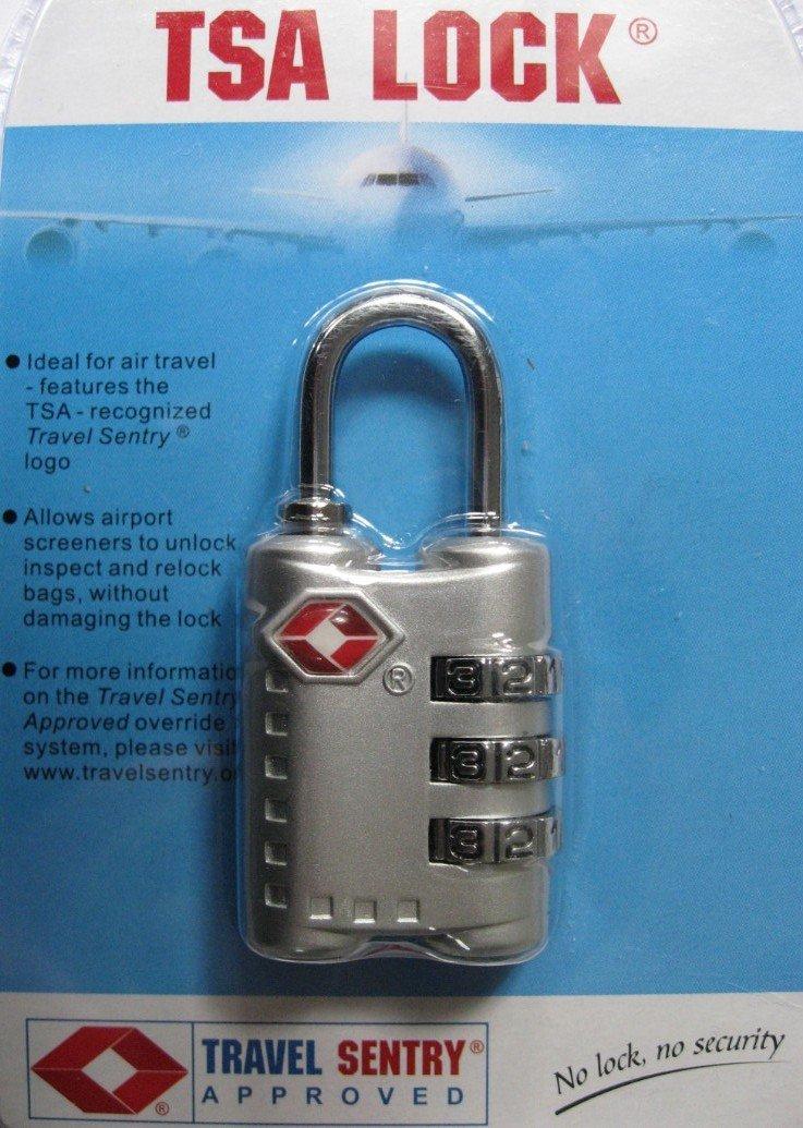 Alta seguridad de viaje cierre tsa HTL359