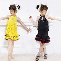 Детская одежда для девочек baby girl performance skirt 4~11T, latest children stage wear, kids Latin dancerwear, cute child dacing dress, infant dance skirt