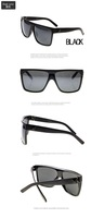 Free Shipping Retail Fashion  Women Sunglasses Retro Vintage Big Frame Sport Glasses Hot Sale With Pouch