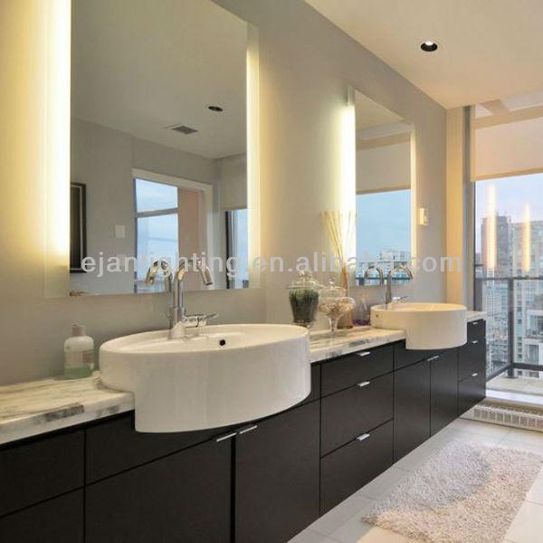 Ul etl ce led r tro clair miroir de salle de bains pour - Miroir eclaire salle de bain ...