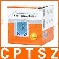 1.5 «экран Портативный автоматический часы кровяного давления запястья монитор