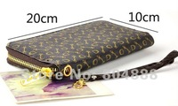 Free Shipping Fashion Women/Men Wallet PU Leather Purse Coin Purses  Mixed Wholesale