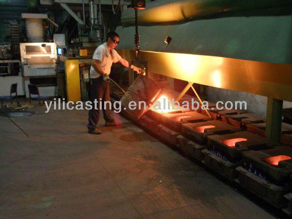 valve cast iron ductile iron sand casting OEM China casting foundry