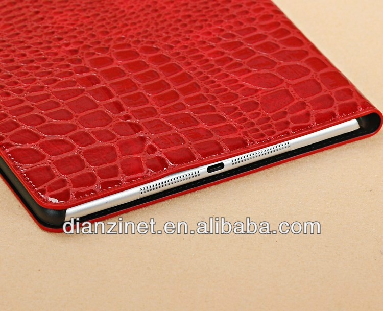 Crocodile Leather Case for iPad Air / iPad 5 Auto Wake/Sleep Function