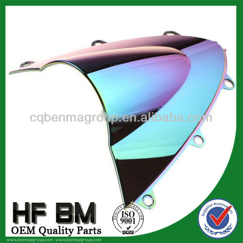 200cc motorcycle windshield/windscreen with various models,high quality and best price,With high efficiency