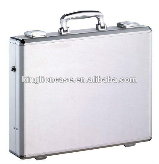silver aluminum laptop case KL-T337