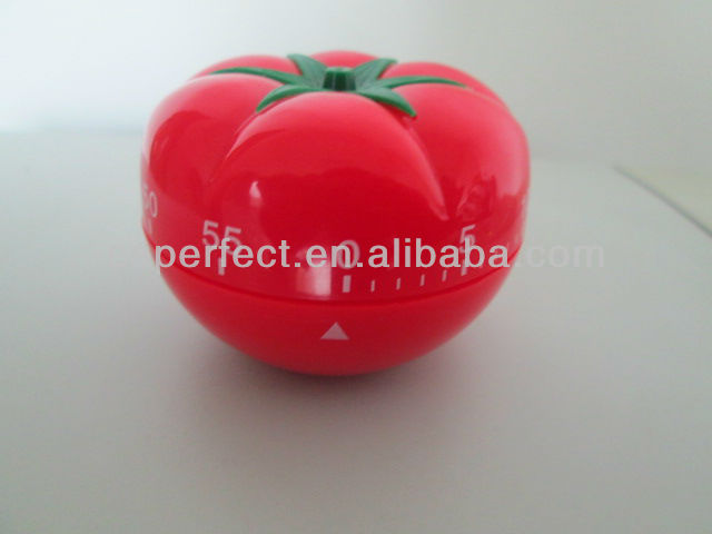 The 110th Canton Fair Sample Plastic Tomato kitchen timer